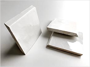 B1 - Zellige 10x10 con 1 borde biselado y esmaltado